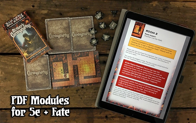 Tech Tuesday Rpg Kickstarter Atmar S Cardography Full Rpg Modules Random Dungeon Decks With Brian Colin Ogn Articles Don't miss out on these beautiful miniatures! full rpg modules random dungeon decks